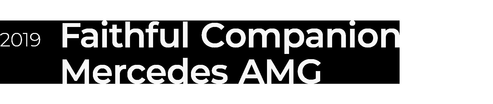 MERCEDES-AMG GLC 43 4MATIC Coupé - Faithful Companion
